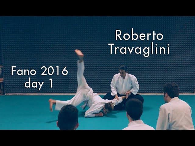 Aikido • Roberto Travaglini • Studio di katatetori aihanmi