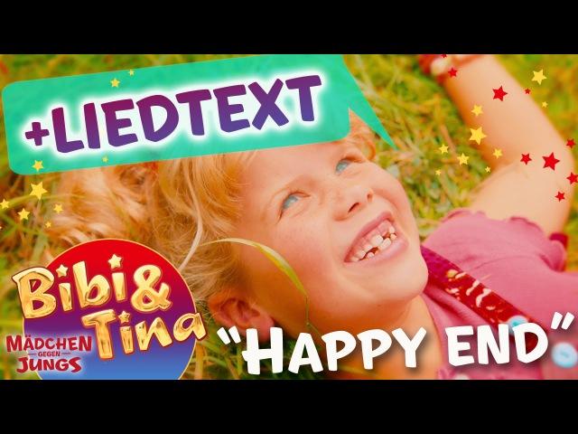 Bibi Tina - HAPPY END mit Liedtext LYRICS zum Mitsingen - volle Länge