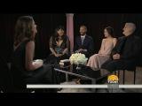 Jamie Dornan, Dakota Johnson, E L James amp James Foley talk Fifty Shades Darker