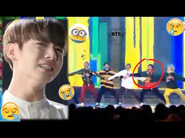 BTS JUNGKOOK Accident while Performing on Stage (All Scenes)