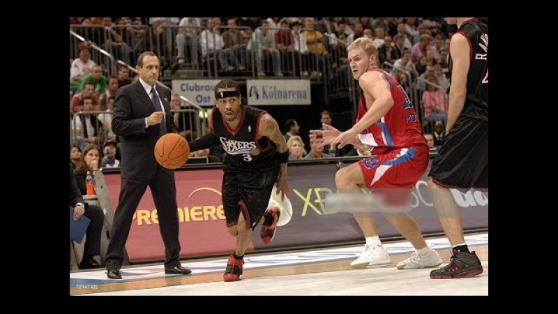 Philadelphia 76ers vs CSKA Moscow 2006 NBA Europe Live Tour FULL GAME English