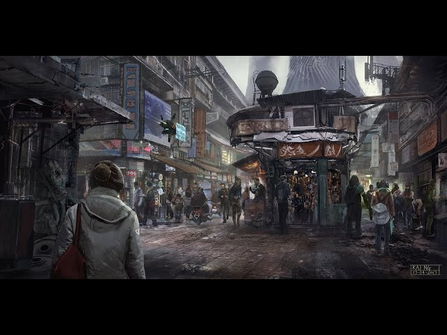 Environment Painting - The Bazaar