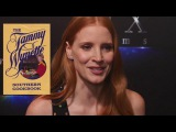 Jessica Chastain her upcoming projects Molly's Game, The Division &amp portraying Tammy Wynette