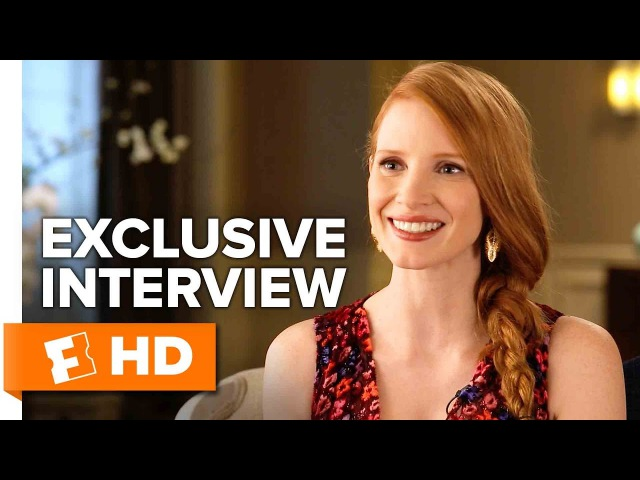 Movies That Matter The Zookeepers Wife - Jessica Chastain Interview