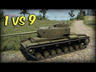 World of Tanks KV-4 | 12 Kills | 6.4K Damage | 1 vs 9 Gameplay