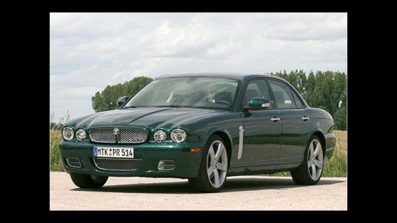 Топ Гир обзор Jaguar XJR/ Топ Гир тест-драйв Ягуар XJR