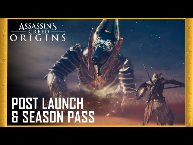 Assassin's Creed Origins: Post Launch Season Pass | Trailer | Ubisoft [US] / DLS
