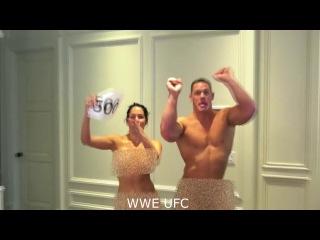 WWE Nude Brie Bella and John Cena Highlight