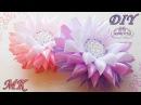 БАНТЫ КАНЗАШИ из узкой ленты. Цветы 🌺 канзаши МК/DIY 👐