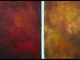 Acryic Painting tip How to paint a multicolored background for a still life