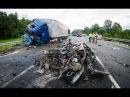 Самые жестокие аварии и ДТП 2016 года. Подборка страшных автокатастроф с жертвами Часовая Подборка