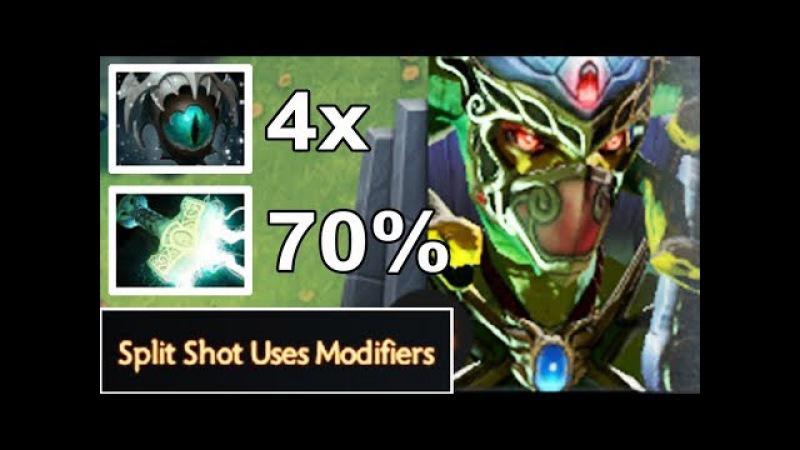 NEW IMBA 7.07 Medusa 70% Lighting 4x Slow Epic Def Comeback by Effect.Sedoy vs Notail Dota 2