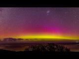 Timelapse Of Amazing Aurora Lights In Australia