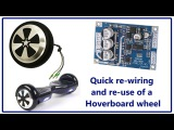 Quick rewire of a hoverboard wheel - $ave on your next robot project