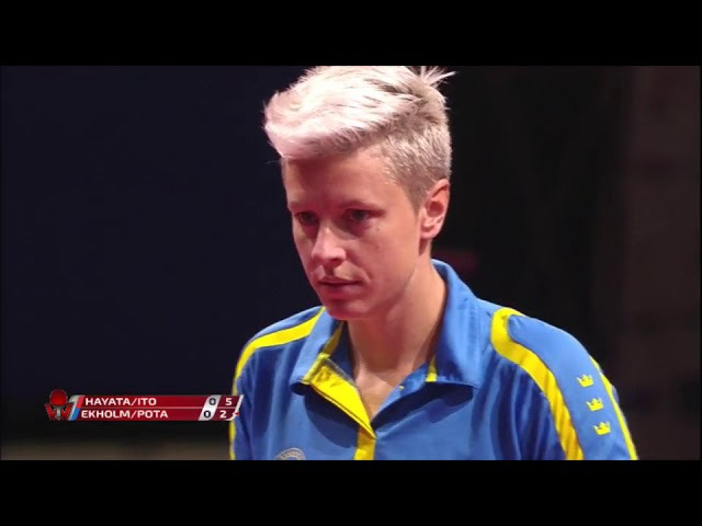 HAYATA Hina ITO Mima vs EKHOLM Matilda POTA Georgina | WD FINAL | Czech Open 2017