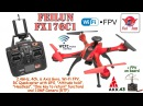 FEILUN FX176C1 2.4GHz, 4Ch, 6 Axis, Wi-Fi FPV, GPS, Alt hold, Headless, One key to return, 1.0MP Cam