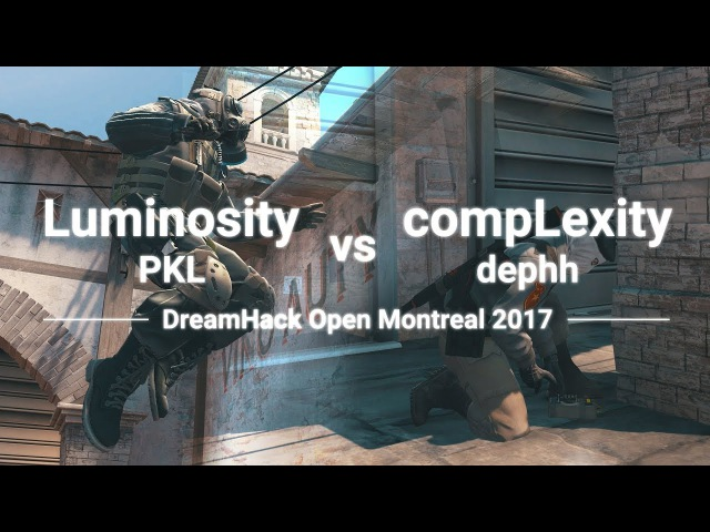 Luminosity.PKL vs coL.dephh DreamHack Montreal 2017