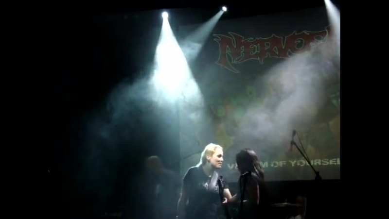 5 NERVOSA - live in Russia at The Brooklyn (Moscow) (part 5) (30.08.15)