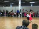 Соревнование по спортивным бальным танцам. Юные участники. Самба