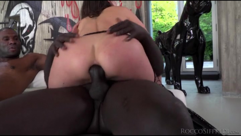 Rocco Siffredi - Henessy - Henessy's Big Black Cock Gangbang - Gonzo IR Gangbang Anal DP Porno 2017