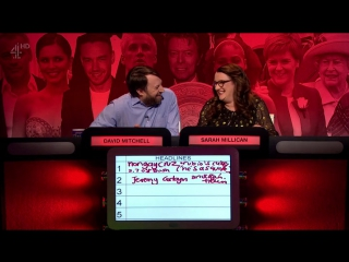 The Big Fat Quiz Of The Year 2016 - Richard Ayoade, Rob Delaney, Mel Giedroyc, Sarah Millican, David Mitchell,Romesh Ranganathan