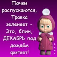 декабрь) зима)