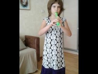игра на блок флейте