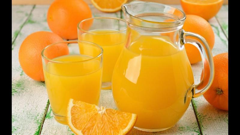 Нюхач - апельсиновый сок