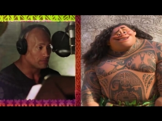 Disneys MOANA Movie - You're Welcome Song - Dwayne Johnson Disney Animated Movie