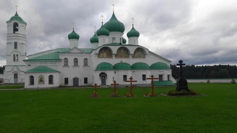 Преображенский собор , Александро-Свирский монастырь , сентябрь2017