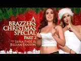 Jillian Janson &amp Lena Paul Part 2 HD 720, Big Naturals, Christmas, Lesbian, Natural Tits, Sneaky, Squirt