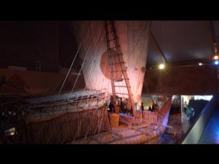 """Экскурсия в музее """"Кон-Тики"""" на острове Бюгдёй города Осло (Норвегия) в июле 2015 года. Часть 3."""
