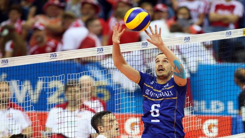 Best Volleyball Setter Benjamin Toniutti Height 60 ft 183 cm