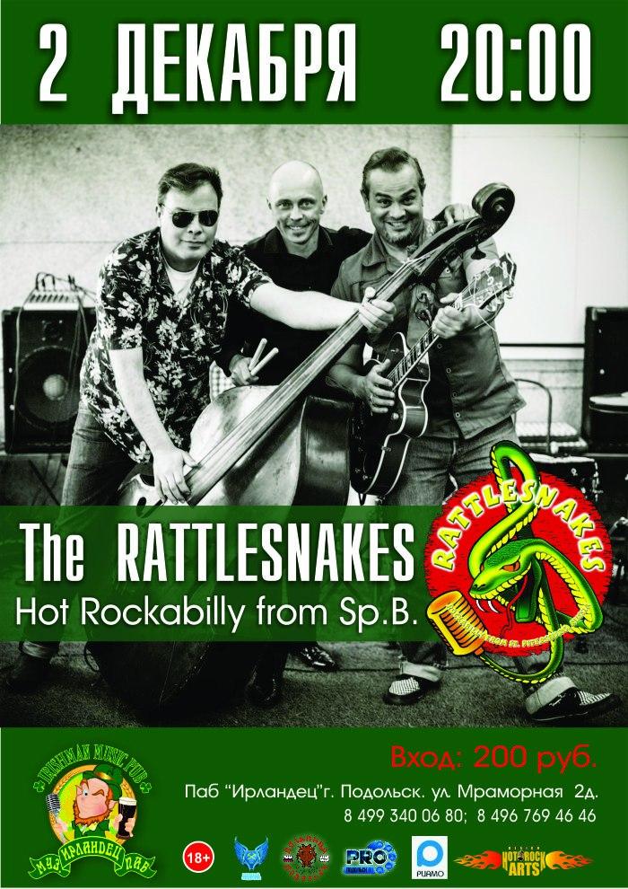 02.12 The Rattlesnakes в пабе Ирландец!