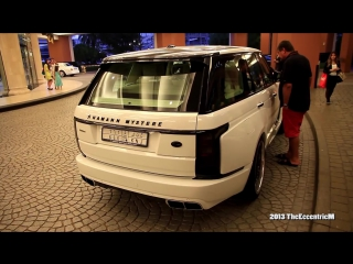 Saudi Hamann Mystere (based on the L405 Range Rover) at Mall of the Emirates