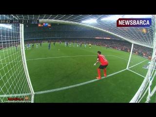 Барселона 2-1 Леганес. Ла Лига 2016/17. 23 тур.