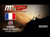 NEWS Highlights - Fiat Professional MXGP of France 2017 - mix eng