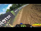 First GoPro Lap with Benoit PATUREL   Fiat Professional MXGP of France   Ernèe  2017   Motocross