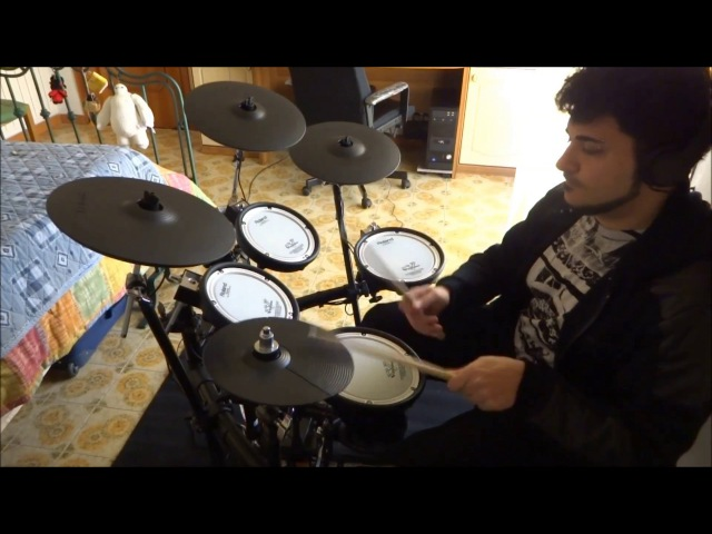 James Vorn The Oral Cigarettes Hey Kids Drum Cover