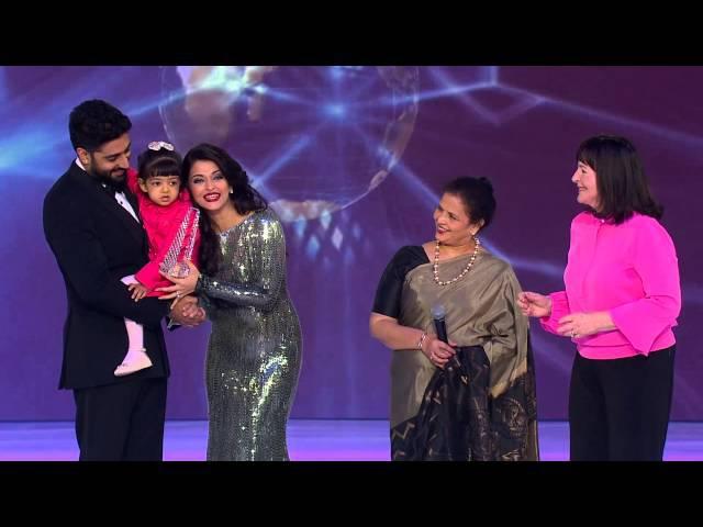 Miss World 2014 Lifetime Beauty with a Purpose Award Aishwarya Rai Bachchan
