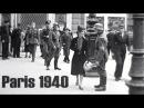 Paris 1940 Deutsche Besatzung German Occupation l´Occupation allemande film color bw