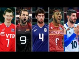 TOP 50 Best Volleyball Spikes  European Men's Volleyball Championships 2017