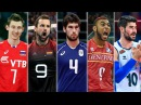 TOP 50 Best Volleyball Spikes | European Men's Volleyball Championships 2017