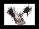 Красивые кружевные туфли