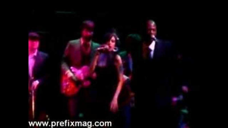 Amy Winehouse Back to Black (Joes Pub, NYC)