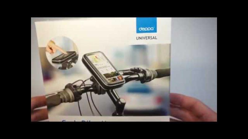 Арт.: 55118. Веломотодержатель Deppa Crab Bike М для смартфонов 3.5-4.3 😇
