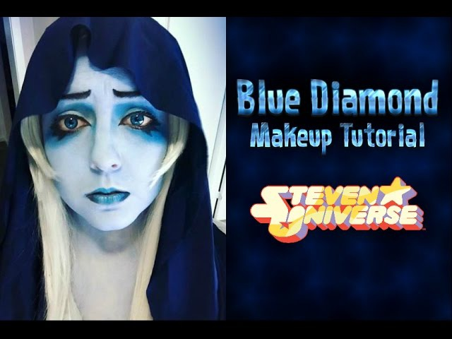 Blue Diamond (Steven Universe) - Makeup Tutorial