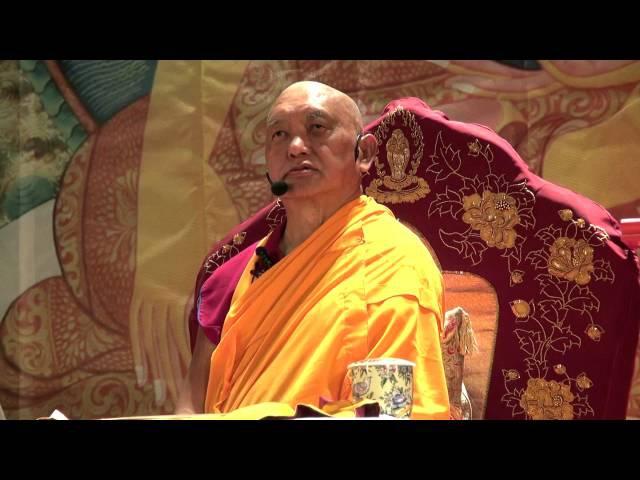 Лама Сопа Ринпоче. Об очищении кармы живых существ