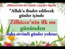 Allah'a Sevimli Zilhicce'nin On Günü Leyali i Aşere