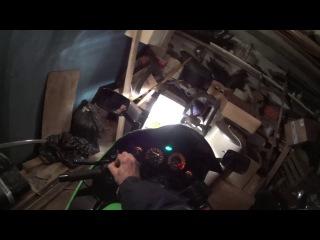 Как заводится Kawasaki ZZR400 при температуре +5 градусов